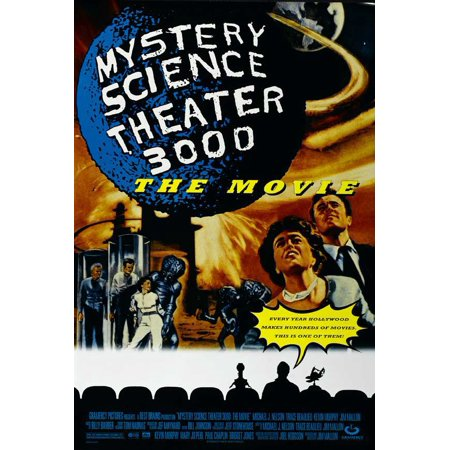 Mystery Science Theater 3000 (1996) 27x40 Movie (Movie Theater Poster Frames)