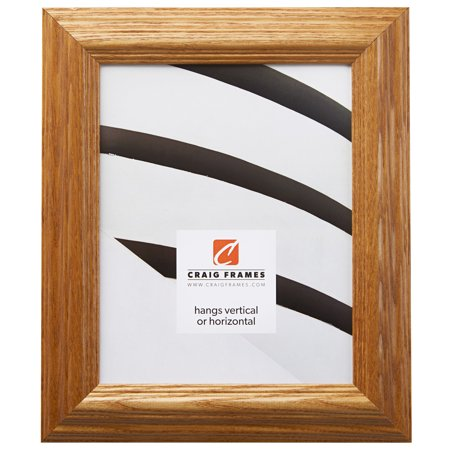 Craig Frames Wiltshire 151, Traditional Brown Stained Wood Picture Frame, 20 x 24 Inch