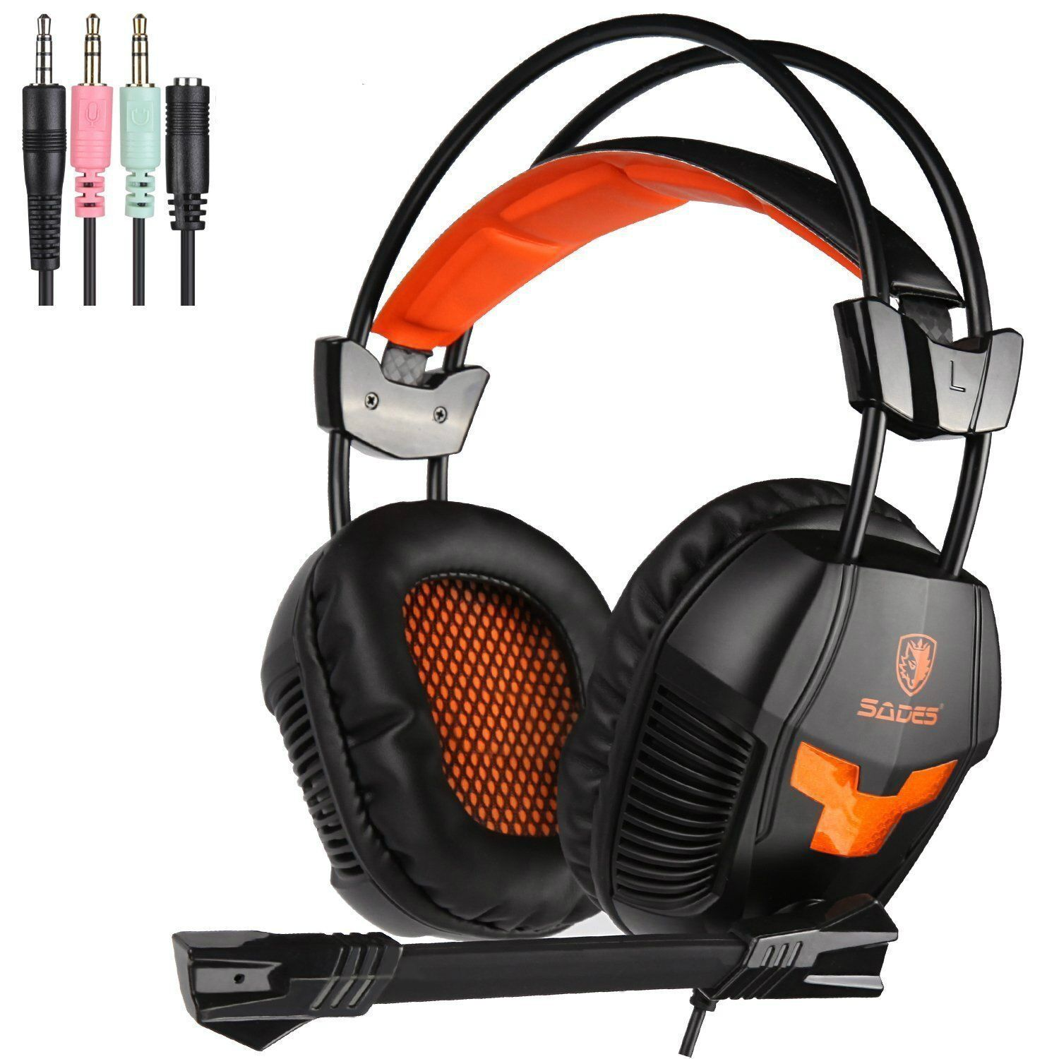 Sades SA921 Universal Gaming Headset Headphone With Mic for PS4 Xbox360 Xbox one