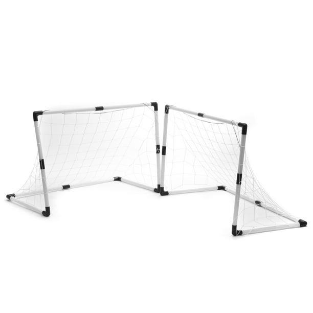 DIY Mini Football Soccer Goal Net + Ball Kids Child ...
