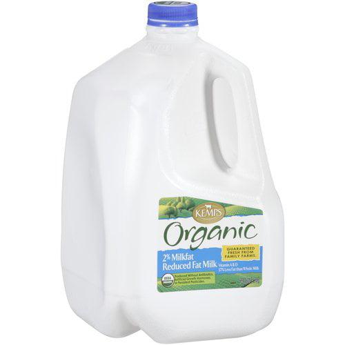 Kemps Organic 2% Reduced Fat Milk, 1 gal