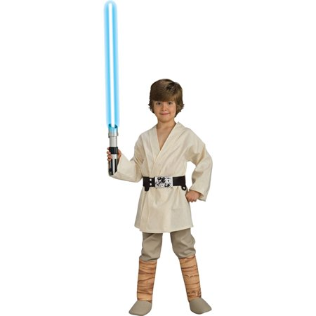Morris costumes RU883162MD Luke Skywalker Dlx Child Mediu - Diy Luke Skywalker Costume