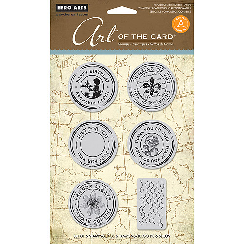"Hero Arts Cling Stamps, 6-1/2"" x 5"""