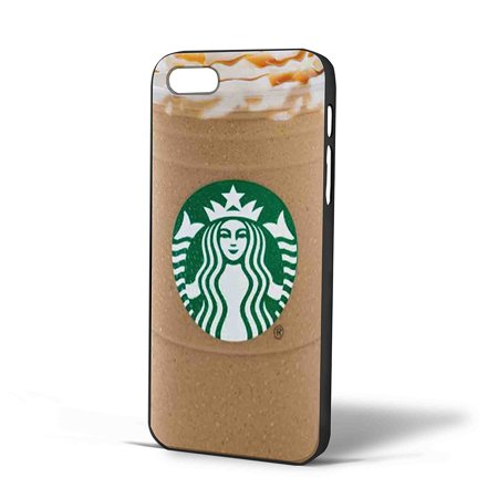 Ganma starbuck ice coffe Caramel Frappuccino Case For iPhone Case (Case For iPhone 6s plus Black) - Starbucks Frappuccino Halloween