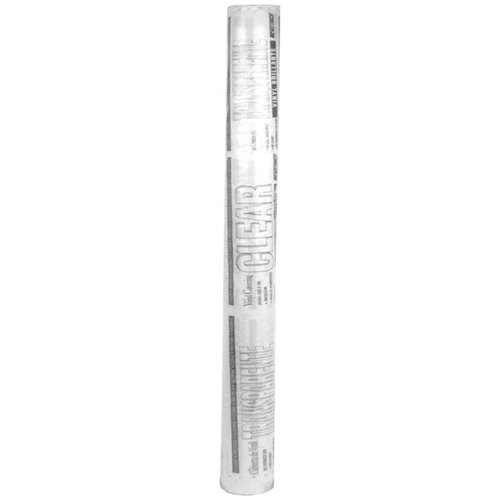 "Magic Cover Multi-Purpose Clear Vinyl Roll, 54"" x 25 yds"