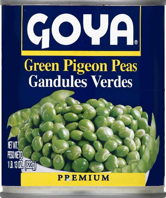 Goya Green Pigeon Peas, 13.0 OZ by Goya