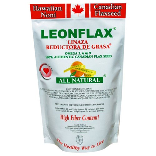 Lenoflax Flax Seed Nutritional Supplement, 18 oz