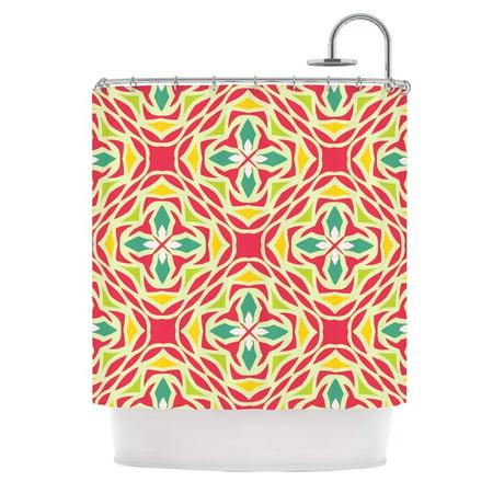Kess Inhouse  Miranda Mol Christmas Carnival Shower Curtain  69X70