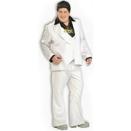 Adult Plus Disco Fever Costume](Disco Couple Costumes)