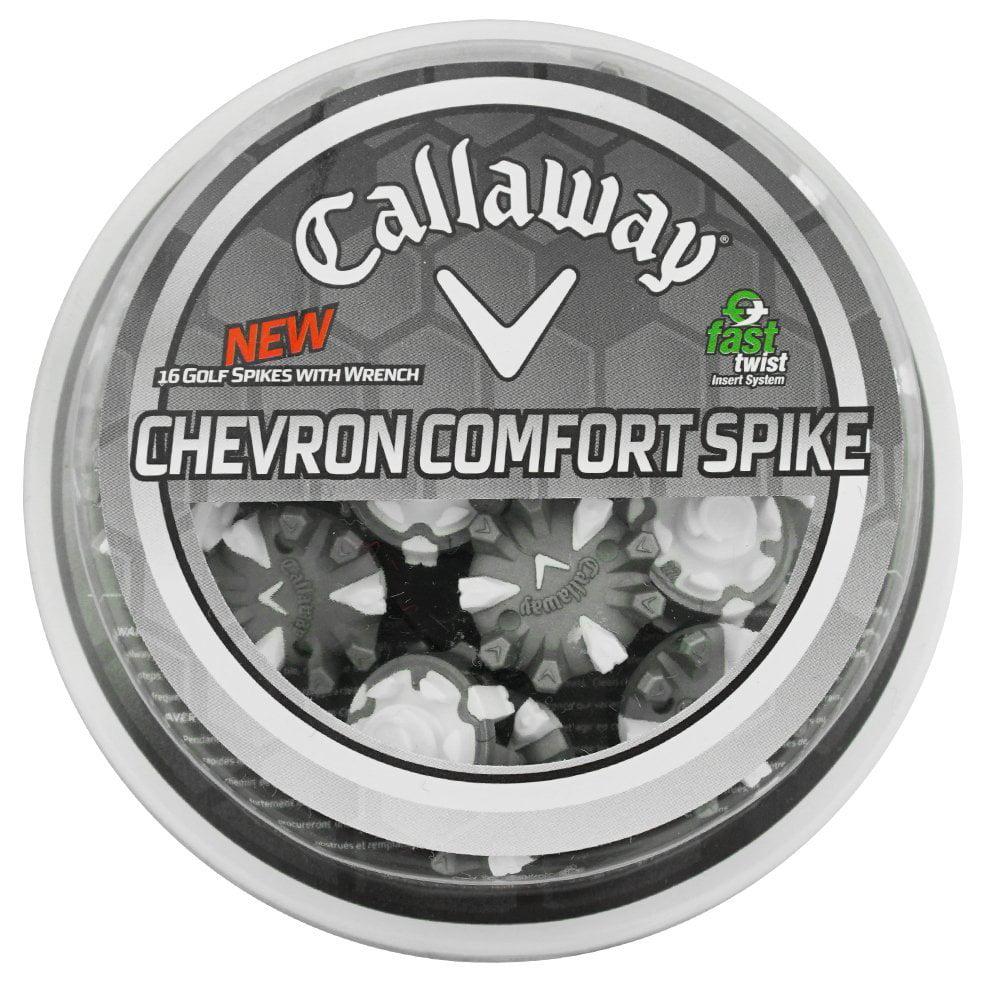 Callaway Golf- Ladies Chevron Comfort Spikes (16 Spikes)