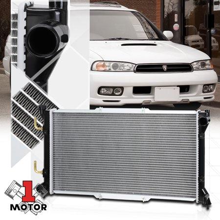 Aluminum Radiator OE Replacement for 95-99 Subaru Legacy 2.2/2.5 AT/MT dpi-1853 96 97 (Subaru Legacy Replacement Radiator)