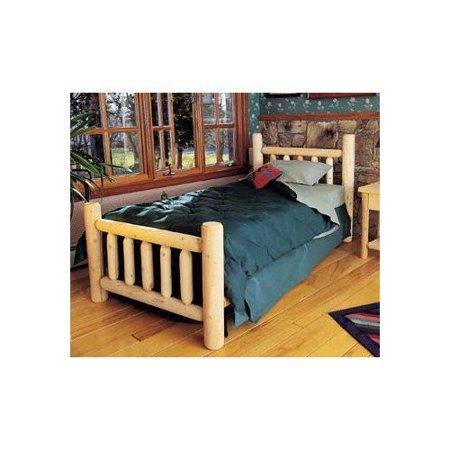 Rustic Natural Cedar Furniture Rustic Cedar Log Bed Headboard Only