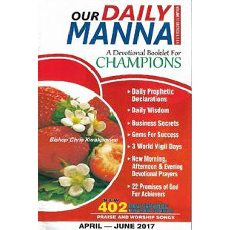 Our Daily Manna April - June 2017 Edition - eBook - Daily Bumps Halloween 2017