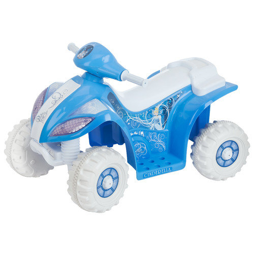 Kid Trax Cinderella 6V Battery Powered ATV