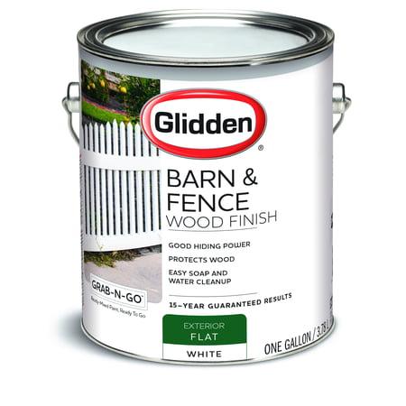 Glidden Grab-N-Go Barn & Fence, Exterior Paint, Flat ...
