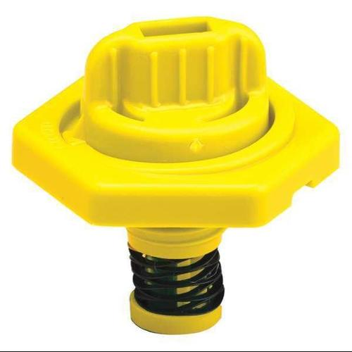 TRICO 24011 Breather Vent,HDPE,1.5 in. H,Yellow G0379797
