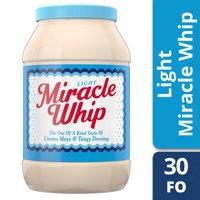 Miracle Whip Light Dressing, 30 fl oz Jar