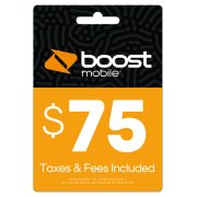 Boost Mobile $75 e-PIN Top Up (Email Delivery)