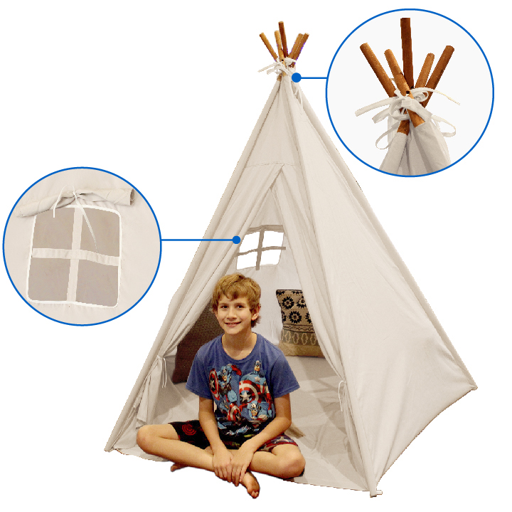 One Size Classic - Teepee Tent P.L.A.Y
