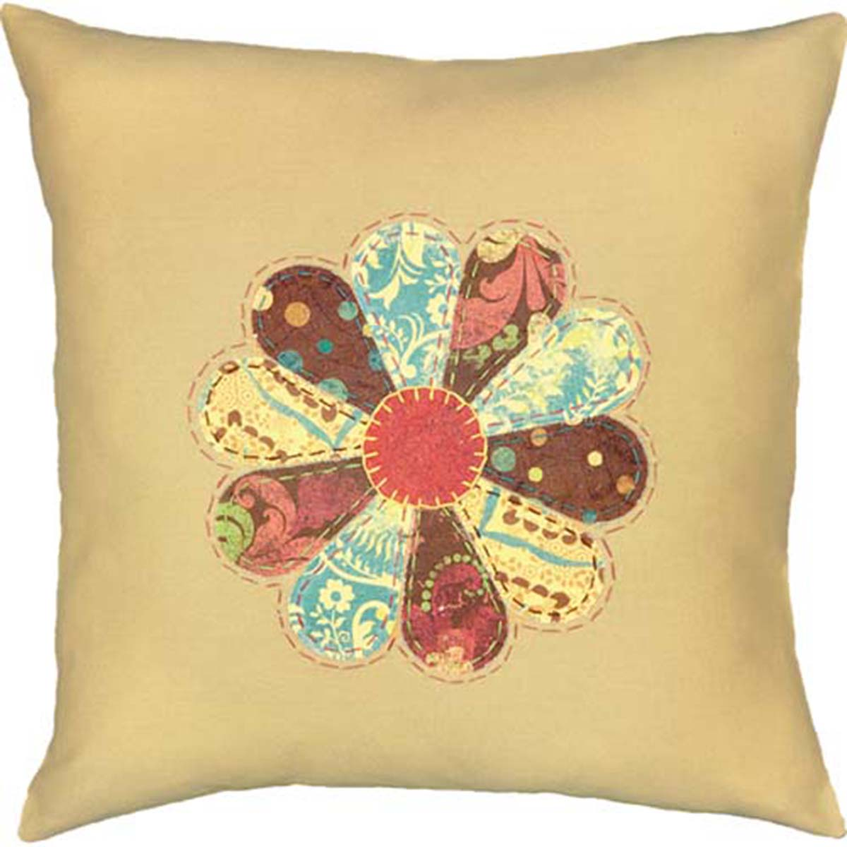 Dimensions® Patterned Petals Embroidery Kit
