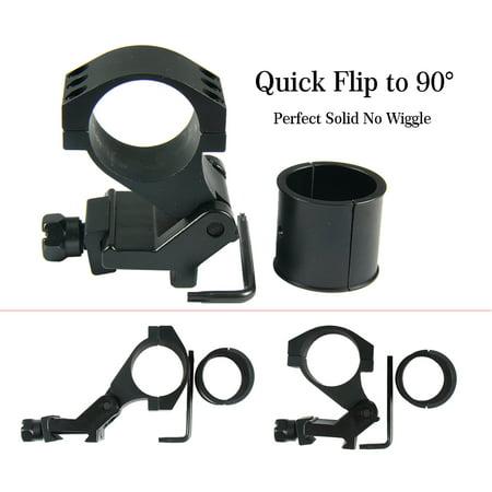 Quick Release Scope Rings - TACFUN 25mm(1