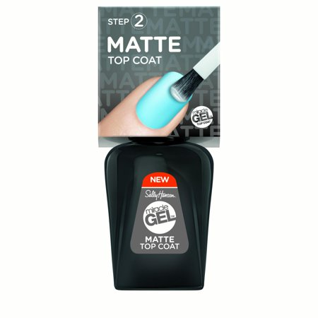 Sally Hansen Miracle Gel Nail Polish - 102 Matte Top Coat - 0.5 fl oz