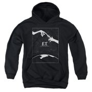 ET the Extra Terrestrial Simple Poster Big Boys Pullover Hoodie