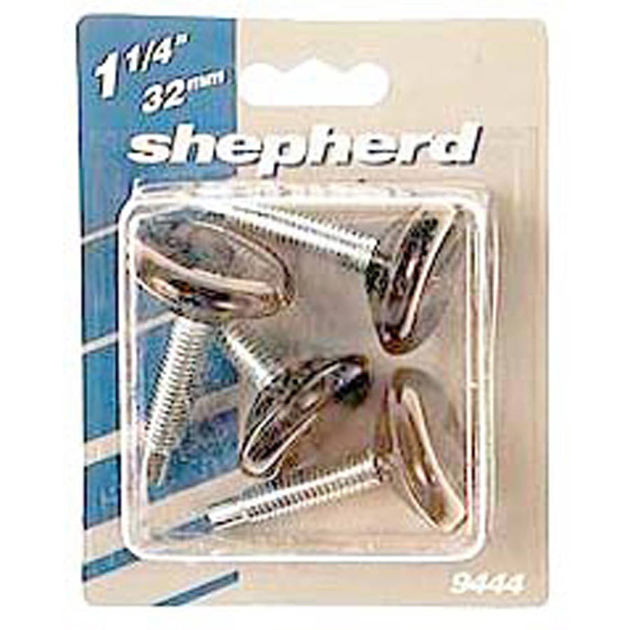 "Shepherd 9451 1-1/4"" Threaded Stem Glides, 4 Count"