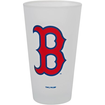 Boston Red Sox 16oz. Frosted Pint Glass - No Size Boston Red Sox Glass