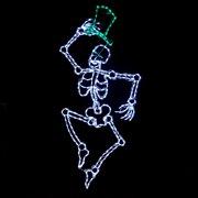 LED Dancing Skeleton - 300 Bulbs