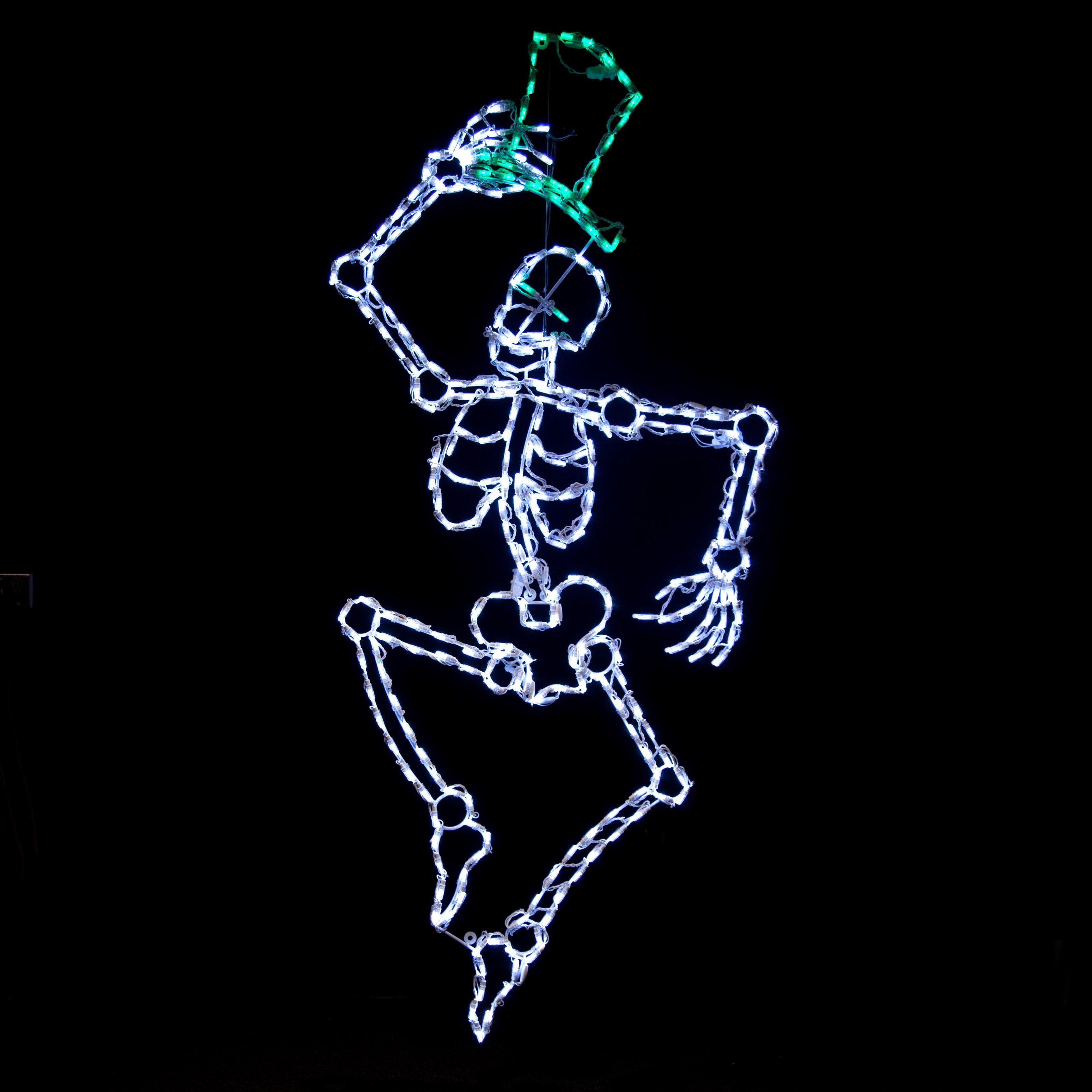 Brite Ideas LED Dancing Skeleton - 300 Bulbs