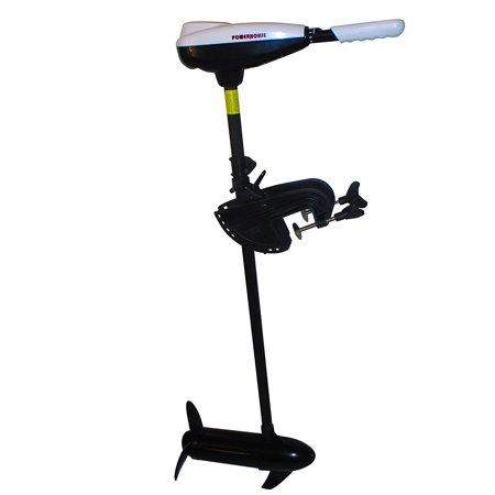 Powerhouse Electric Trolling Motor 45Lbs With Free Extra Weedless Propeller  36   Shaft Length