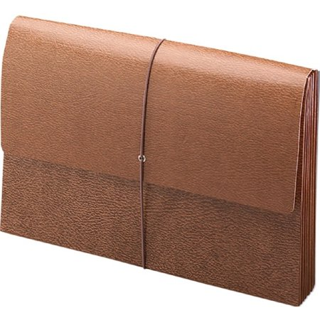 Smead 71376 Leather-like Expanding Wallets With Elastic Cord - 10