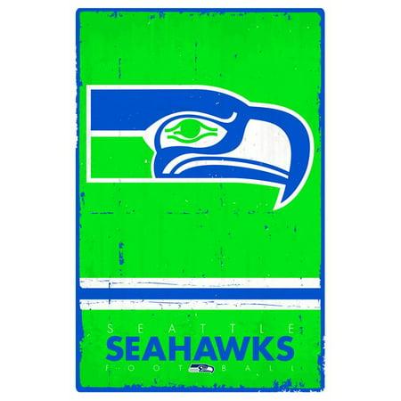 Seattle Seahawks - Retro Logo - Seahawk Movie Poster