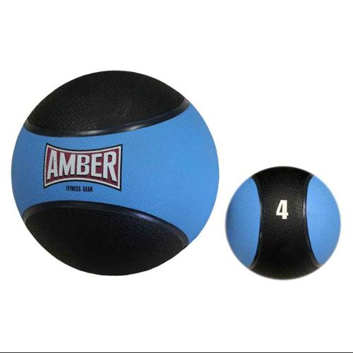 Rubber 4 lbs. Fitness Training Medicine Ball in Blue