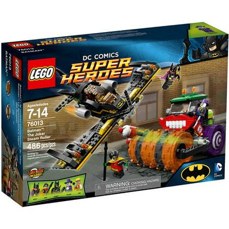 Lego Super Heroes Batman The Joker Steam Roller Play Set