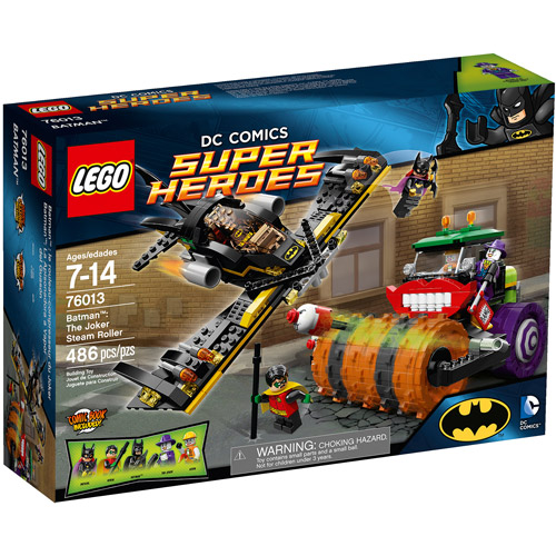 LEGO Super Heroes Batman: The Joker Steam Roller Play Set