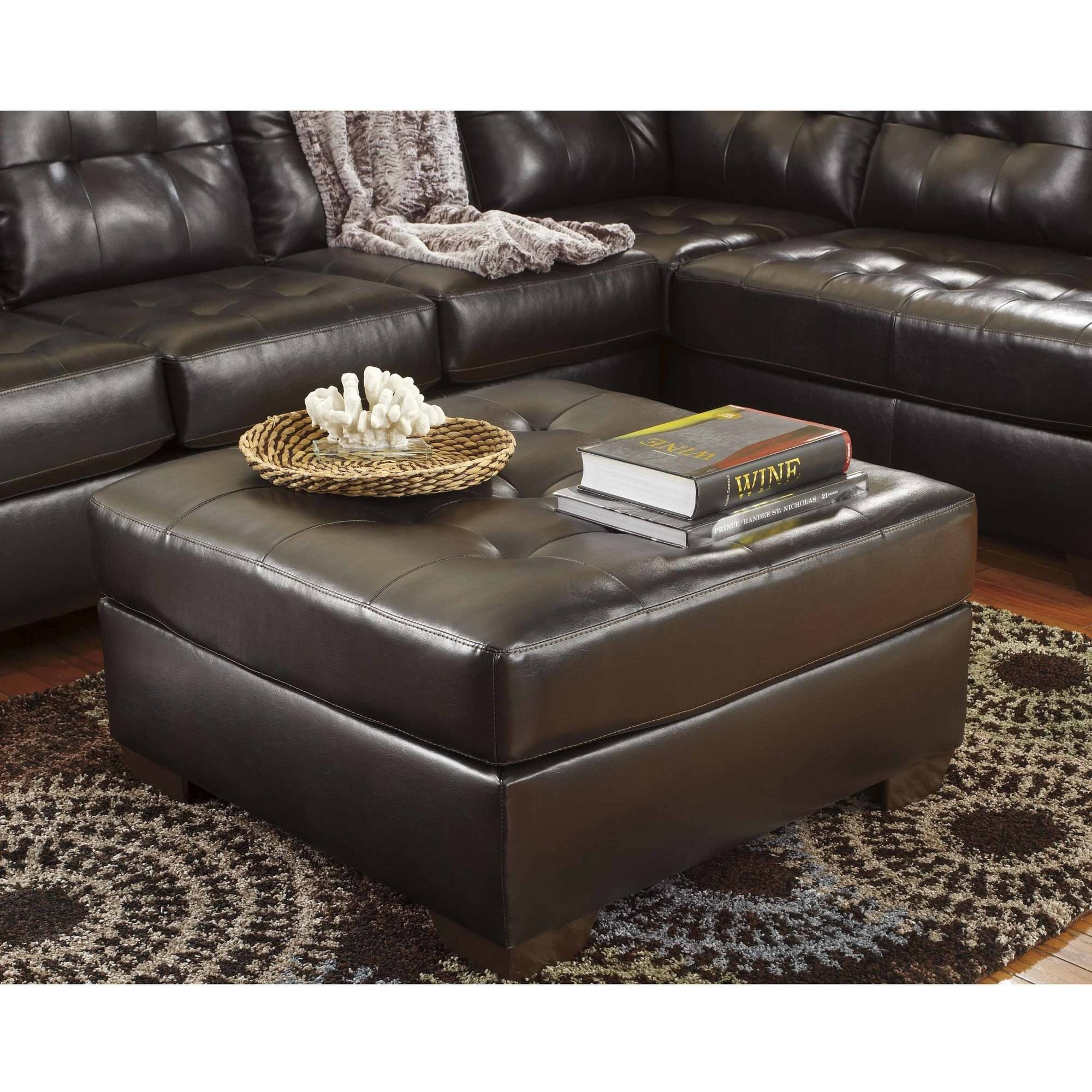 Flash Furniture Signature Design by Ashley Alliston Oversized Ottoman in DuraBlend, Multiple Colors