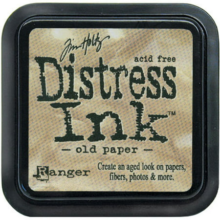 Ink Pad Distress Dye Old Paper Tim Holtz By Ranger Ink Pad Old Rose