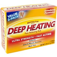 Mentholatum Deep Heating Rub 2 oz