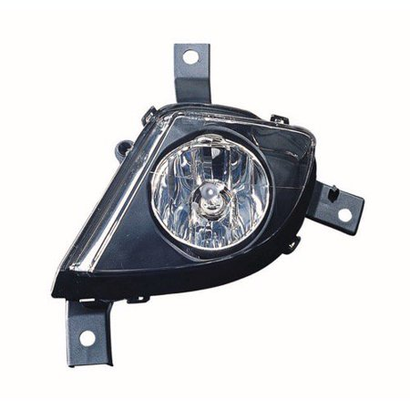 Compatible 2009 - 2011 BMW 328i xDrive Fog Light Lamp Assembly Replacement Housing / Lens / Cover - Left (Driver) Side - (3.0L L6 E90 Body Code; Sedan + 3.0L L6 E90 Body Code; Wagon + 3.0L L6 E91) (2011 Bmw 328i Xdrive Accessories)