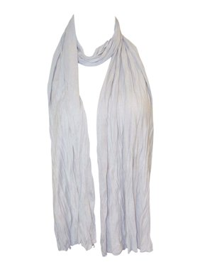 Zodaca Women Ladies Fashion Lightweight Soft Plain Solid Color Casual Scarf One Size