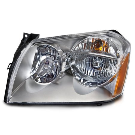 2005-2007 Dodge Magnum Chrome Driver Side Headlight CH2502165