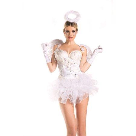 White Swan Angel Costume