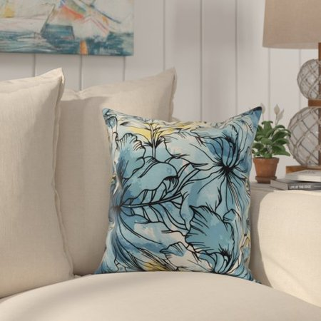 Bay Isle Home Randall Floral Print Indoor/Outdoor Throw Pillow