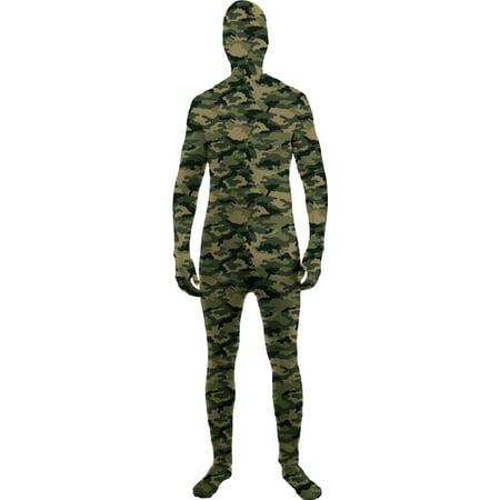 Morris costumes FM71794 Skin Suit Camo Child Large for $<!---->
