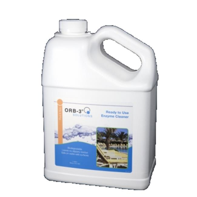 Orb-3 A011-J5R-1G 1 gal Ready to Use Enzyme Cleaner Jug
