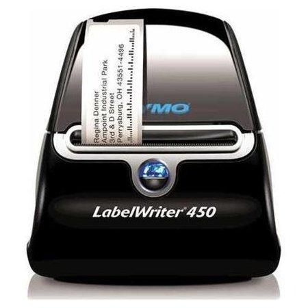 Dymo LabelWriter 450 Direct Thermal Printer Monochrome Desktop Label Print 1.2 Second Mono 600 x 300 dpi USB by