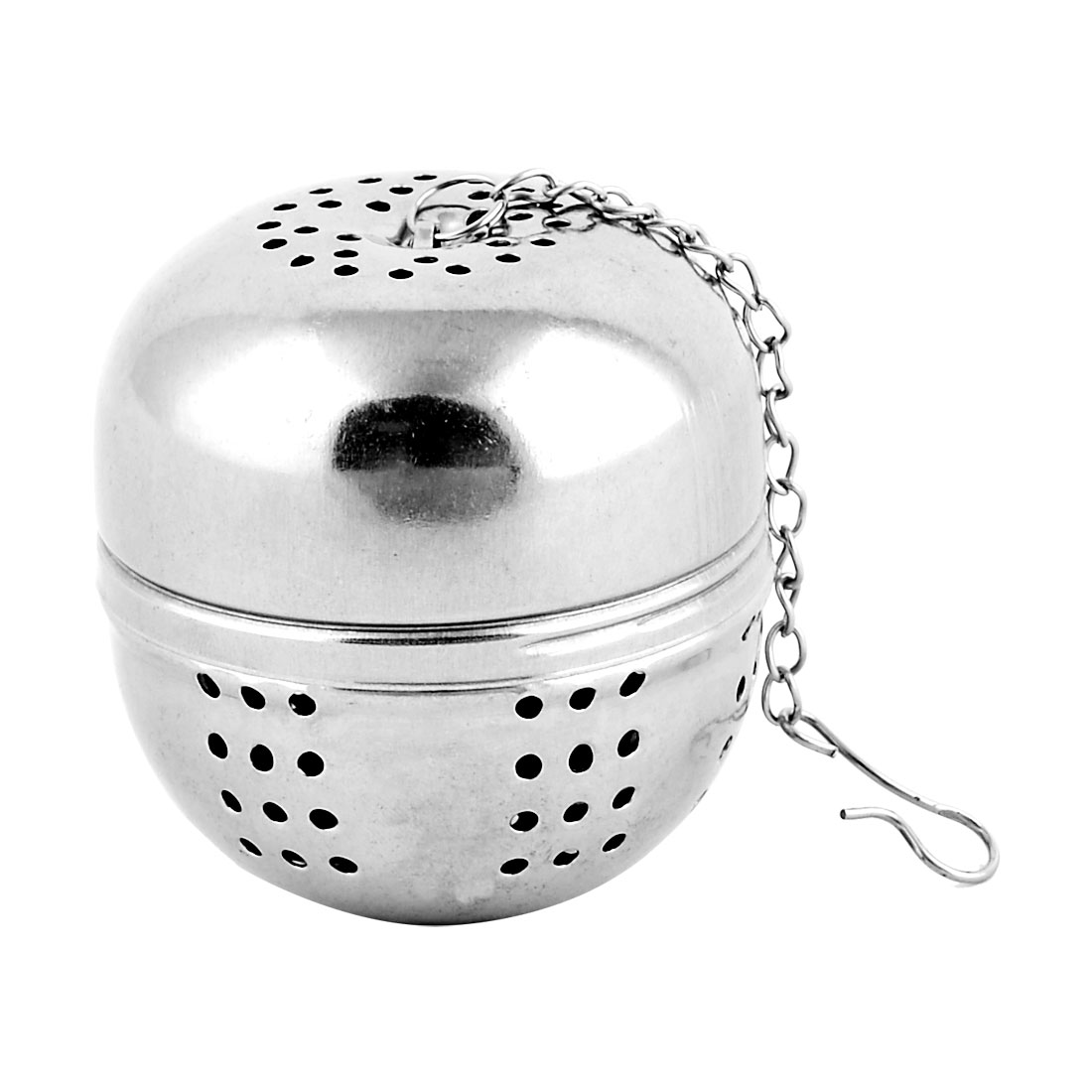 Unique BargainsHousehold Stainless Steel Tea Leaf Spice Ball Strainer Silver Tone 45mm Diameter