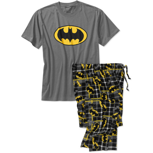 Batman Men's Fleece Character set